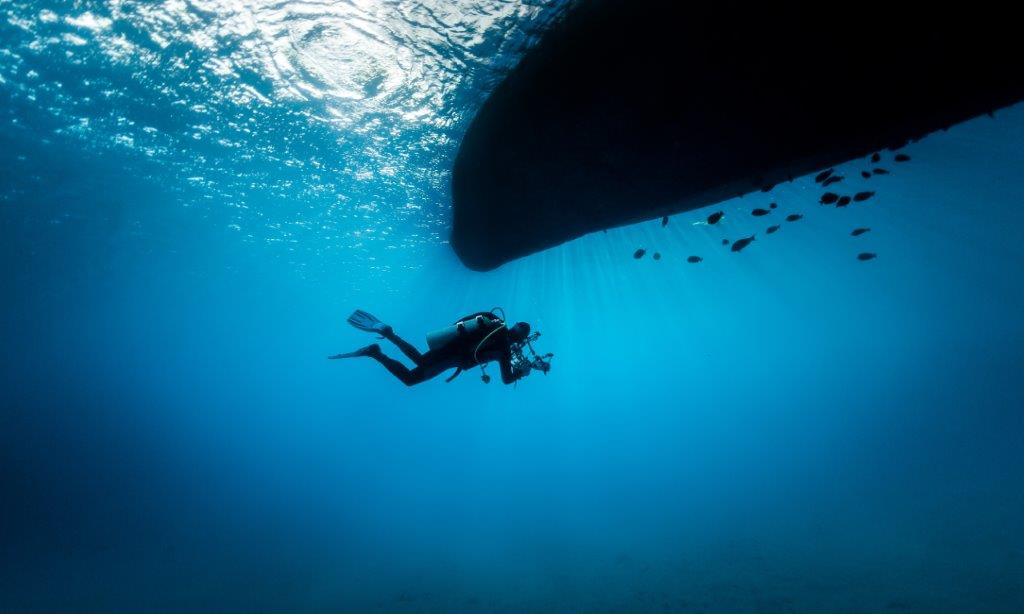 When's the last time you've gone under water?
