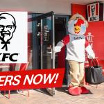 KFC ORIGINAL FLAVOR NOW AT YOUR DOOR STEP.